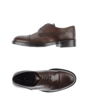 Обувь на шнурках BORGO MEDICEO. Цвет: темно-коричневый