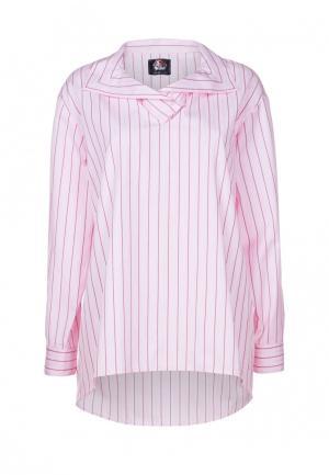Рубашка Mayamoda. Цвет: розовый