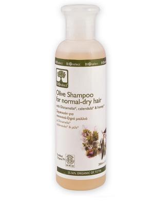 Шампунь для нормальных и сухих волос BIOSelect. Цвет: бежевый