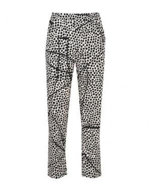 Повседневные брюки ZERO + MARIA CORNEJO. Цвет: бежевый