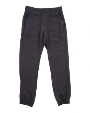 Повседневные брюки AMELIA. Цвет: стальной серый