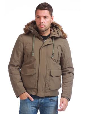 Куртка Catbalou. Цвет: оливковый