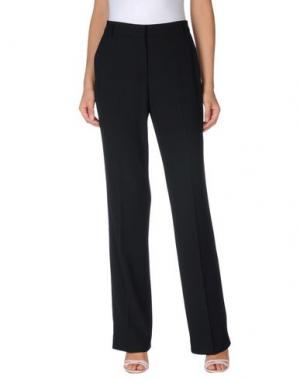 Повседневные брюки IRMA BIGNAMI. Цвет: черный