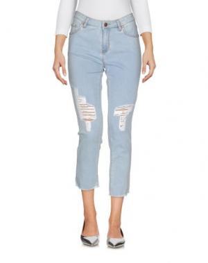 Джинсовые брюки FOUDESIR. Цвет: синий