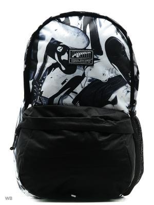 Рюкзак Academy Backpack PUMA. Цвет: черный, белый, серый