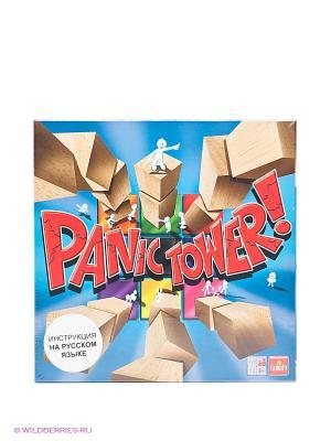 Настольная игра Panic Tower GOLIATH. Цвет: голубой, красный