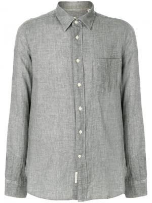 Рубашка на пуговицах Bellerose. Цвет: серый