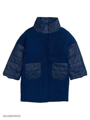 Пальто MARIELA. Цвет: синий