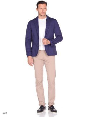 Пиджак хлопковый Пряник. Цвет: темно-синий