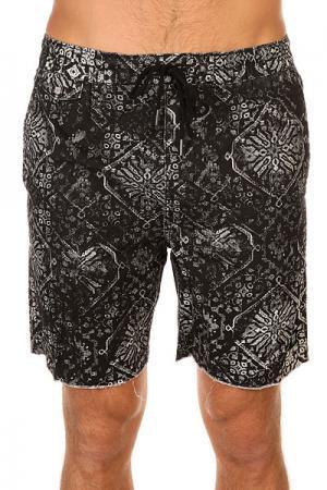 Шорты пляжные  Carpet Floyd Black Insight. Цвет: черный,белый