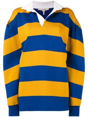 Полосатый свитер Marc Jacobs. Цвет: синий