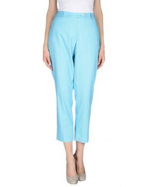 Повседневные брюки CALALUNA. Цвет: небесно-голубой
