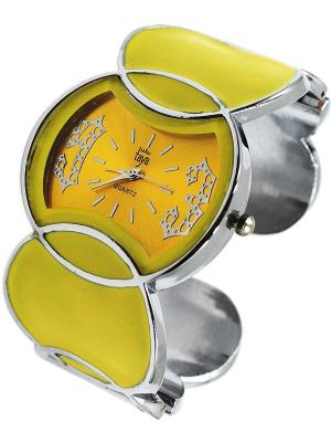 Часы Taya. Цвет: желтый, серебристый