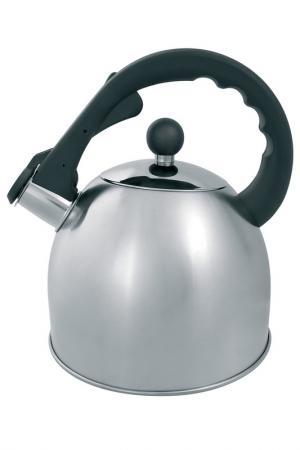 Чайник со свистком 3,0 л Appetite. Цвет: серый