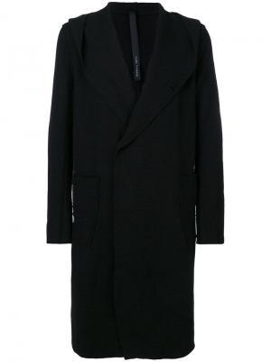 Удлиненное пальто Poème Bohémien. Цвет: чёрный