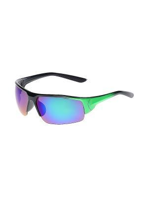 Очки солнцезащитные Infiniti. Цвет: фиолетовый, черный, зеленый