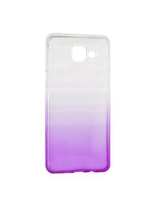 Крышка задняя для Samsung A5 2016/A510 Силикон IQ Format. Цвет: фиолетовый