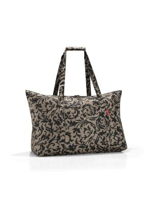 Сумка складная Mini maxi travelbag baroque taupe Reisenthel. Цвет: бежевый