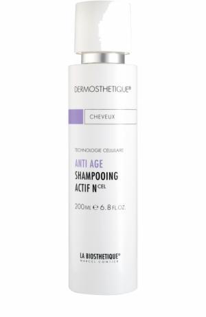 Клеточно-активный anti-age шампунь для нормальных и волос La Biosthetique. Цвет: бесцветный