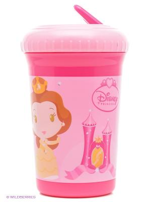 Кружка-непроливайка Принцессы Stor. Цвет: фуксия, розовый