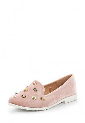 Лоферы Catisa. Цвет: розовый