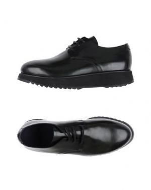 Обувь на шнурках COSTUME NATIONAL HOMME. Цвет: темно-зеленый