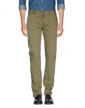Повседневные брюки SMITH'S AMERICAN. Цвет: зеленый-милитари