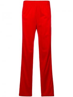 Спортивные брюки с полосками логотипом Givenchy. Цвет: красный