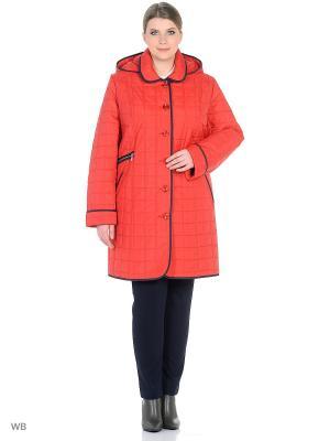 Куртки Tirella city. Цвет: красный