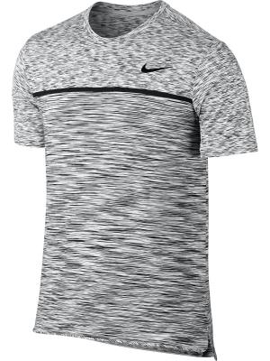 Футболка M NKCT DRY CHLLGR TOP SS Nike. Цвет: белый, черный