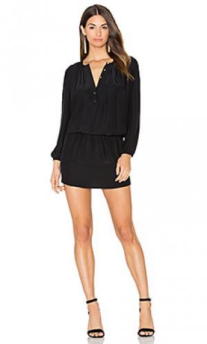 Платье sam Amanda Uprichard. Цвет: черный