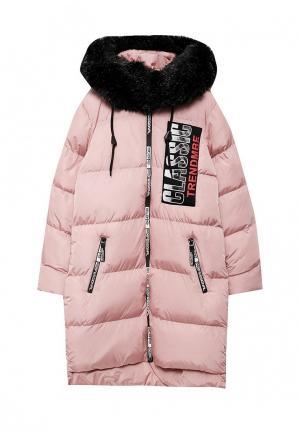 Куртка утепленная Jan Steen. Цвет: розовый