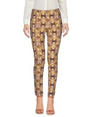 Повседневные брюки MALÌPARMI. Цвет: хаки
