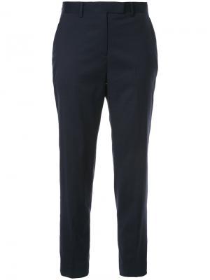 Укороченные классические брюки Tomorrowland. Цвет: синий