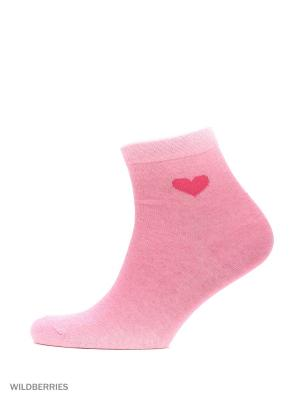 Набор носков, 2 пары Modis. Цвет: розовый