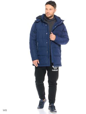 Куртка Adidas. Цвет: синий