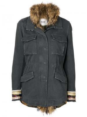 Пальто со съемным жилетом Bazar Deluxe. Цвет: чёрный