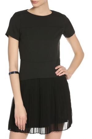 Платье PAPER DOLLS. Цвет: черный