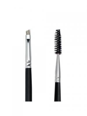 Royal & Langnickel SILK BROW/LASH. Кисть для бровей и ресниц Royal&Langnickel. Цвет: черный