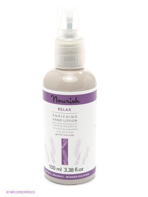 Nourish Relax Enriching Hand Lotion Успокаивающий лосьон для рук чувствительной кожи, 100 мл. Цвет: прозрачный