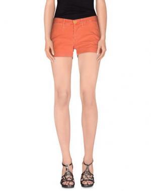 Повседневные шорты 0/ZERO CONSTRUCTION. Цвет: оранжевый