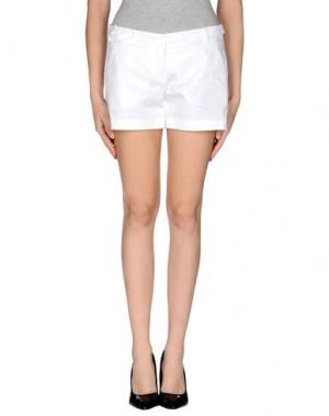 Повседневные шорты HANITA. Цвет: белый