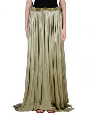 Длинная юбка MARIA LUCIA HOHAN. Цвет: зеленый