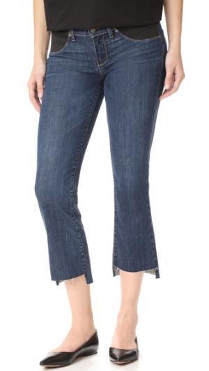 Облегающие укороченные расклешенные джинсы для беременных Riley PAIGE. Цвет: deena