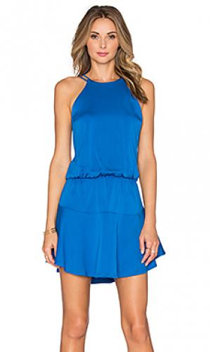 Мини платье romina Karina Grimaldi. Цвет: синий