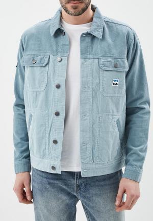 Куртка Billabong. Цвет: голубой