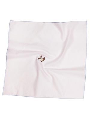 Платок 100% х/б 50*50 Passigatti. Цвет: бледно-розовый
