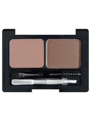 Профессиональный набор для дизайна бровей Brow Artist L'Oreal Paris. Цвет: темно-коричневый