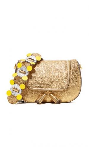 Миниатюрная сумка-портфель Anya Hindmarch
