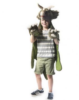 Карнавальные костюмы и маски WILD & SOFT. Цвет: зеленый-милитари